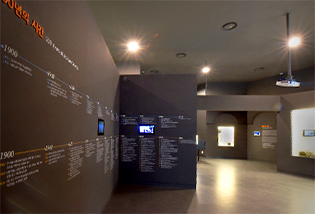 The entrance of section 3, 100 Years of Korean movies.