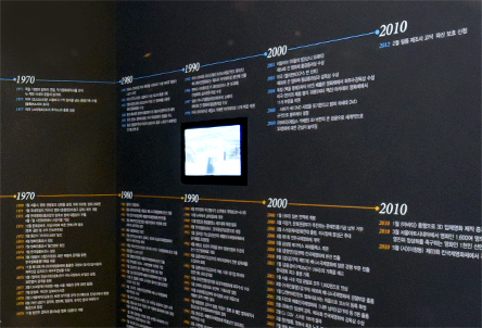 The part of the chronicle of Korean Movies.